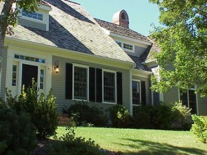 Exterior painting Cape Cod